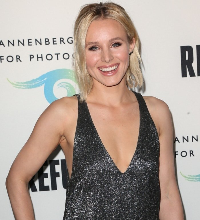 Kristen Bell doesn't rule out getting tattoos on her body in the future