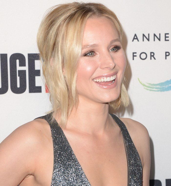 Kristen Bell doesn't really have any tattoos at the moment