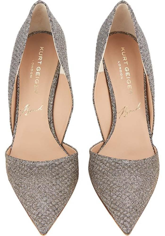 Kurt Geiger Bond Metallic Glitter