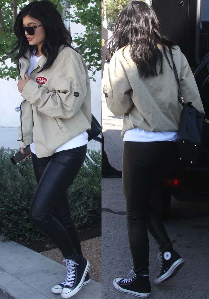 Kylie Jenner RH Contemporary Gallery Converse 2