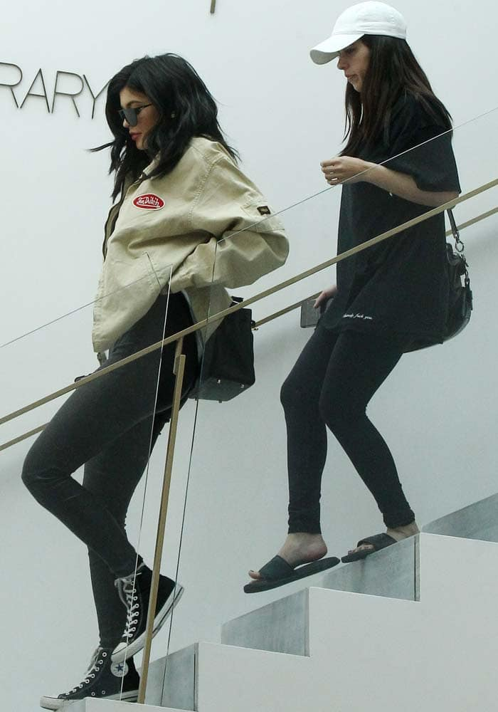 Kylie Jenner RH Contemporary Gallery Converse 4