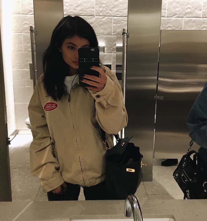 Kylie Jenner RH Contemporary Gallery Converse IG