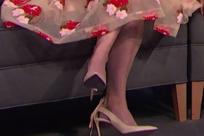 Lena Dunham Nicholas Kirkwood Origami pumps