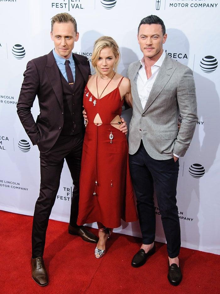 Luke-Evans-Sienna-Miller-Tom-Hiddleston-High-Rise-Premiere