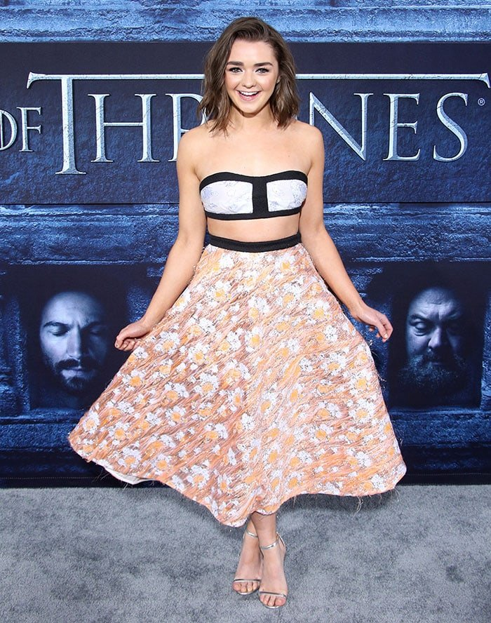 Maisie-Williams-Game-of-Thrones-season-6-premiere