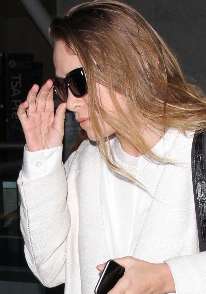 Mary Kate Olsen LAX Square Toe Heels 1