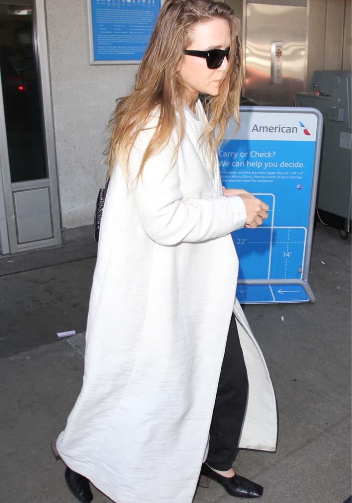 Mary Kate Olsen LAX Square Toe Heels 3