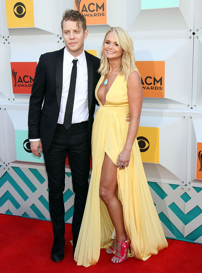 Miranda Lambert brought her new boyfriend Anderson East to the 51st Academy of Country Music Awards