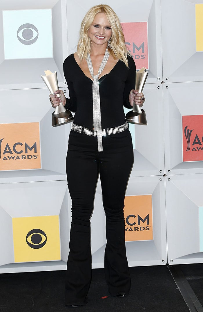 Miranda Lambert wins Female Vocalist of the Year and Vocal Event of the Year