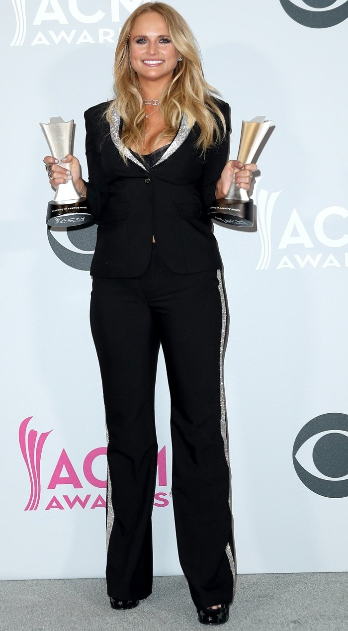 Miranda Lambert won several awards at the 2017 Academy Of Country Music Awards