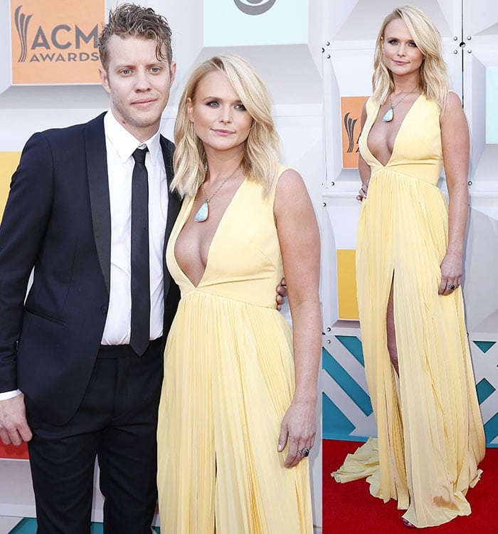 Miranda Lambert and new boyfriend Anderson East at the 51st ACM Awards 2016