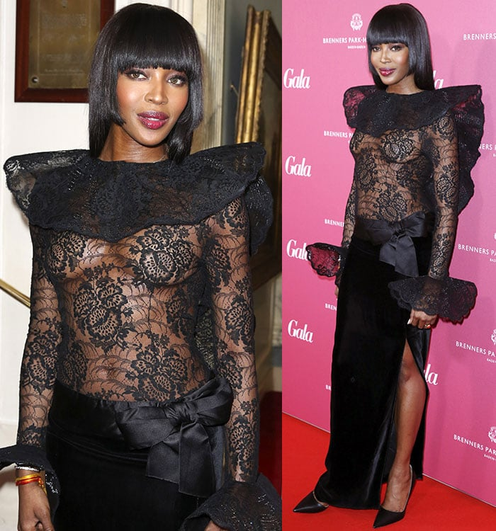 Naomi-Campbell-see-through-Pierre-Cardin-Gown