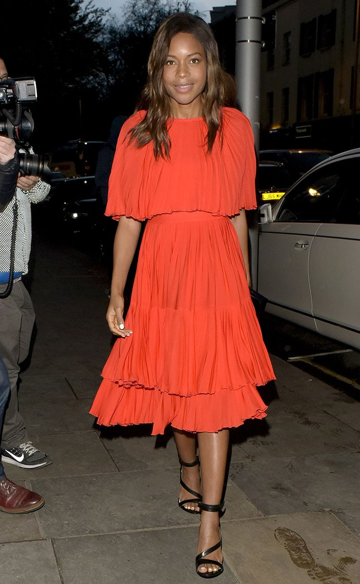 Naomie-Harris-launch-party-of-Ours-restaurant