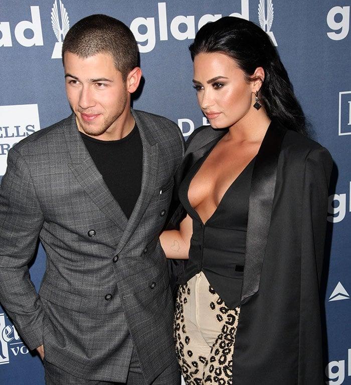 Nick-Jonas-Demi-Lovato-GLAAD-Media-Awards-2016