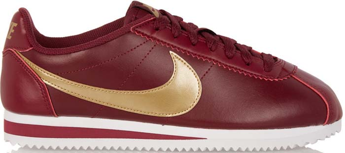Nike Cortez Red Gold 1