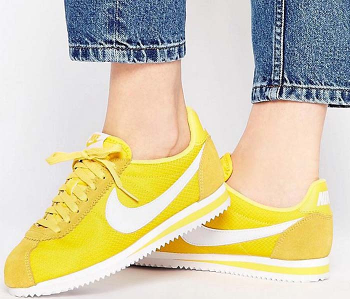 Nike Cortez Red Yellow 2