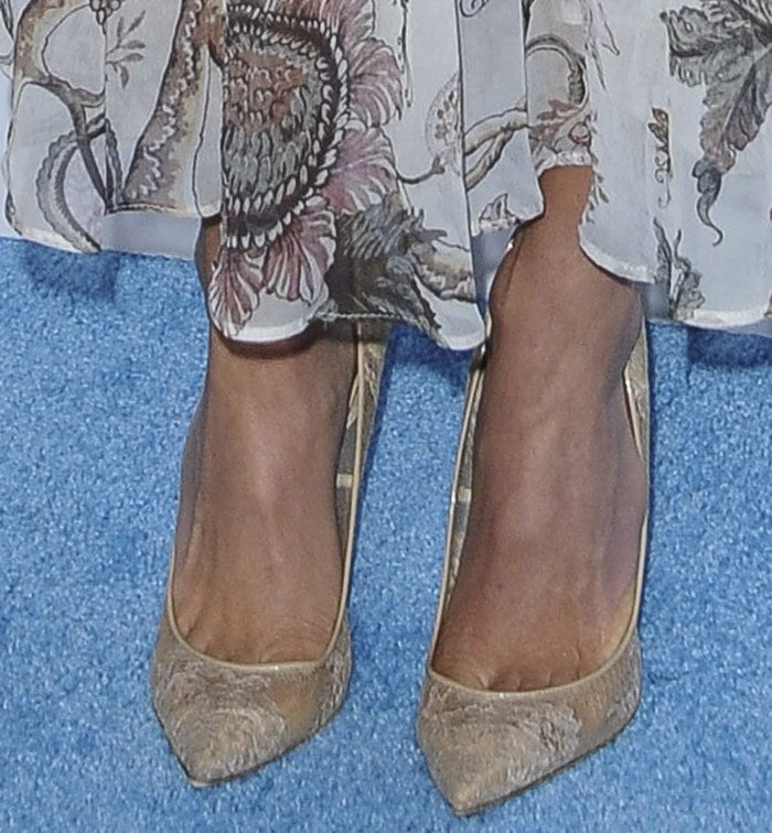 Nikki-Reed-Nude-Lace-Pumps