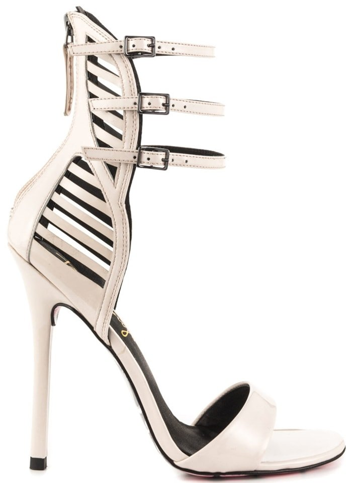 Pale Blush Patent Taylor Says 'Miss Skully' Sandals