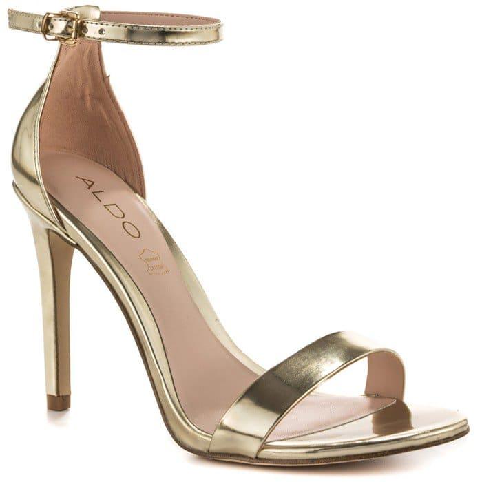 Aldo Paules Dress Heels Gold