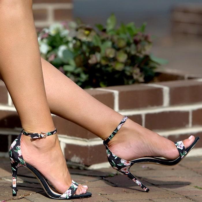 Aldo Paules Dress Sandals Pink Misc