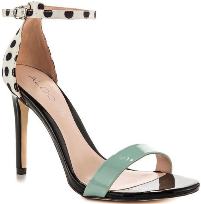 Aldo Paules Dress Shoes White Black
