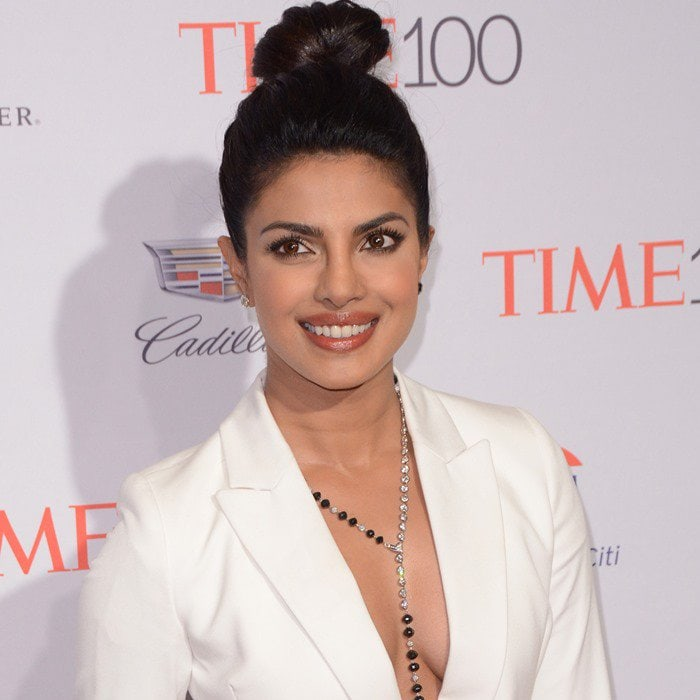 Priyanka Chopra at the 2016 Time 100 Gala held at the Time Warner Center in New York City on April 26, 2016