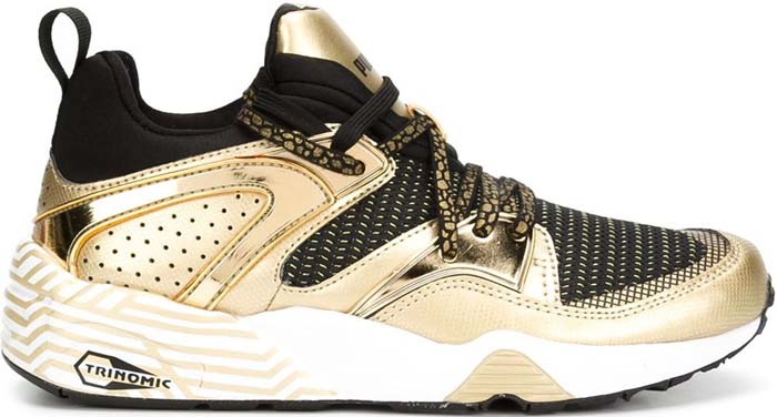 Puma Trinomic Sneakers Gold Black