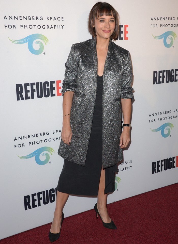 Opening of 'Refugee' exhibit at the Annenberg Space for Photography - Arrivals
