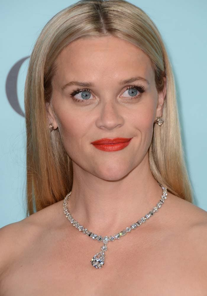 Reese Witherspoon Tiffany Co Blue Book Jimmy Choo 1