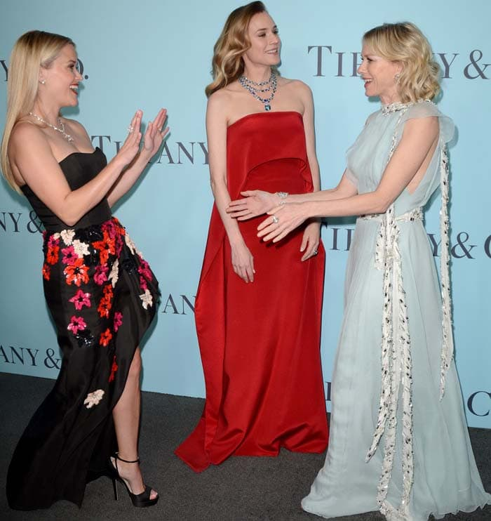 Reese Witherspoon Tiffany Co Blue Book Jimmy Choo 4