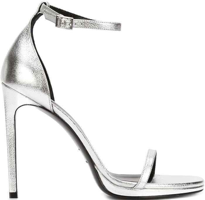 Saint-Laurent-Jane-Sandals-Silver