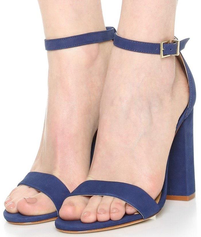 Schutz Enida Sandals in Dress Blue