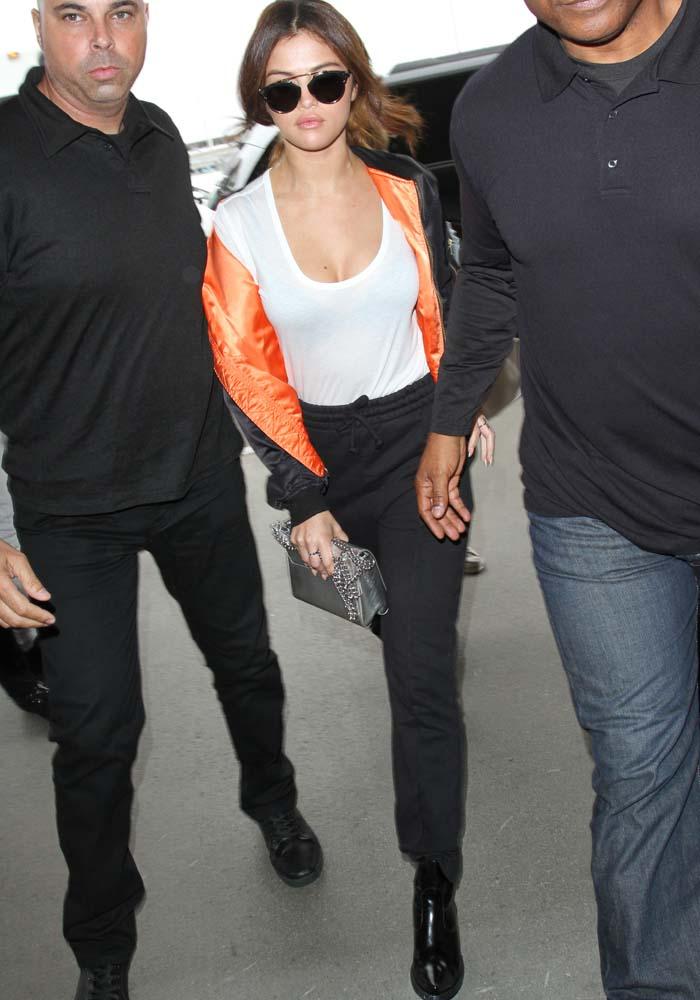 Selena Gomez LAX Vetements 2