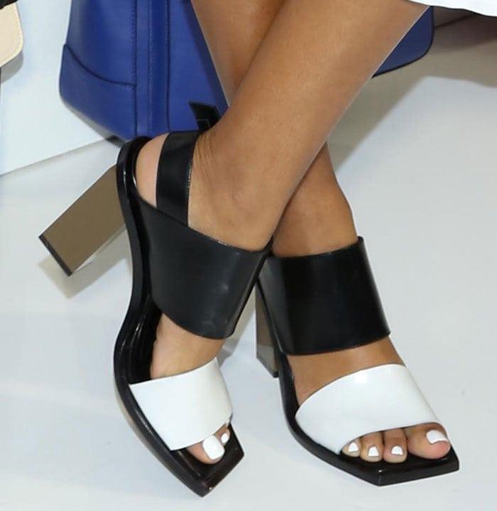 Solange-Knowles-Marni-Colorblock-Sandals
