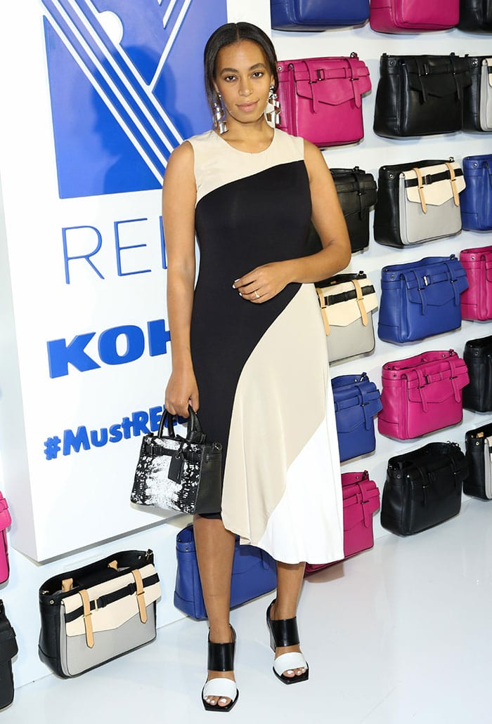 Solange-Knowles-REED-Kohl's-Collection-Launch-dinner