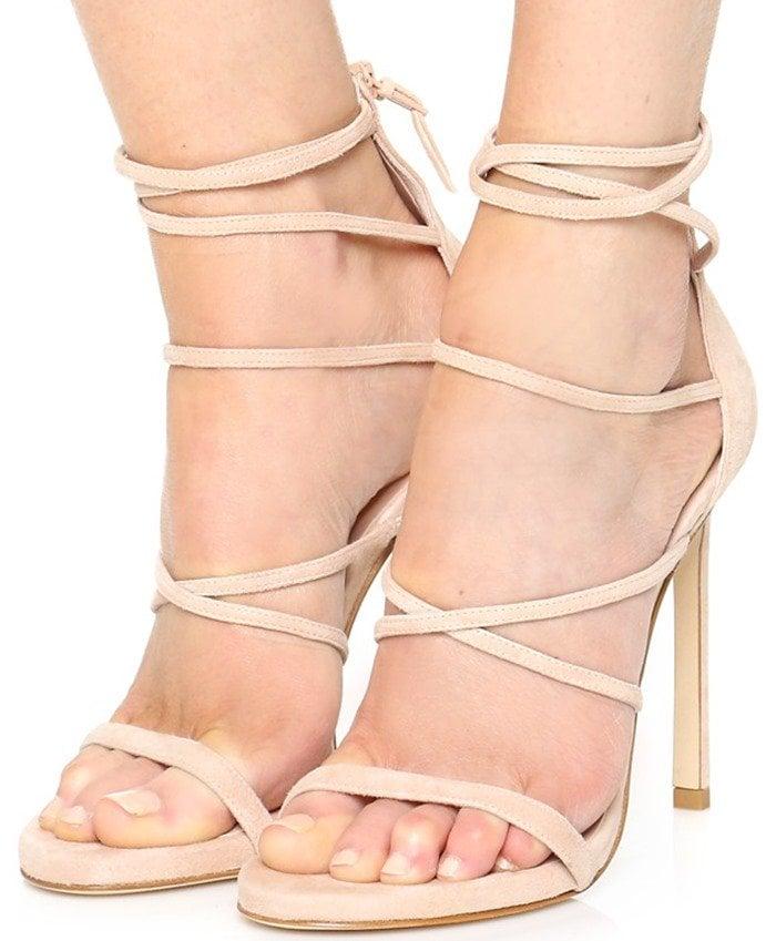 Stuart Weitzman Myex Sandals in Bisque