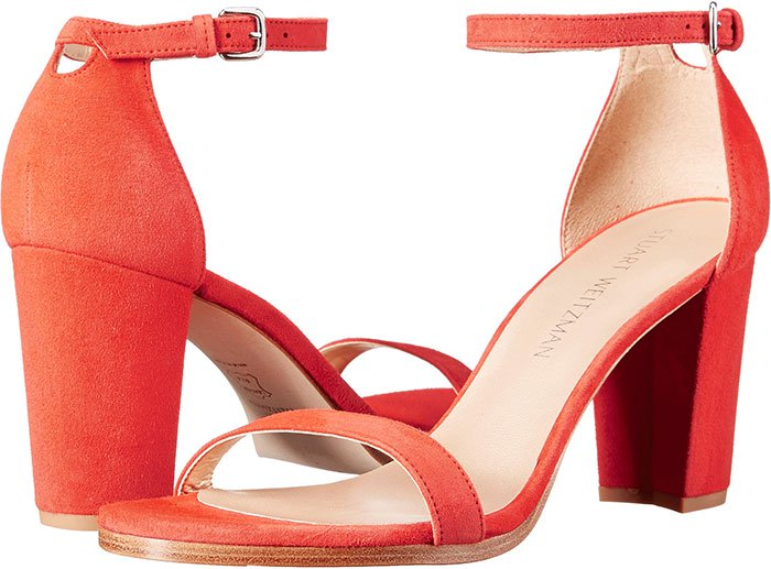 Stuart-Weitzman-NearlyNude-Red-Suede-Sandals