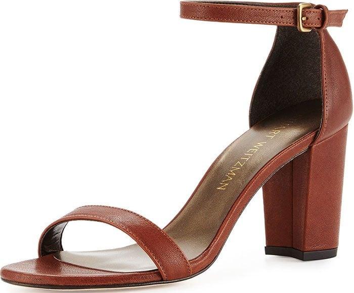 Stuart-Weitzman-NearlyNude-Walnut-Leather-Sandals