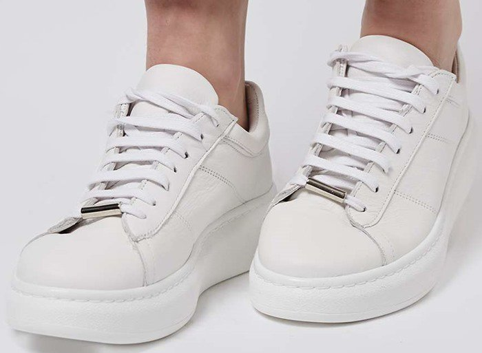 TOULOUSE Lace-Up Sneakers