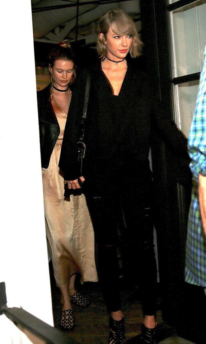 Taylor Swift Behati Prinsloo dinner Gracias Madre