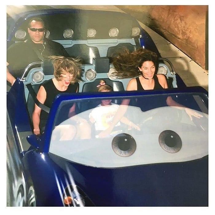 Taylor Swift bodyguard Disney roller coaster
