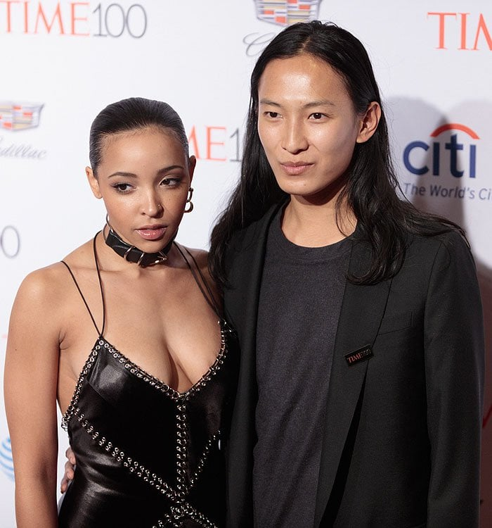 Tinashe Jorgensen Kachingwe got to pose for pictures together with designer Alexander Wang