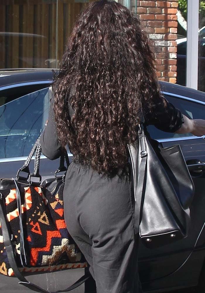 Vanessa Hudgens Salon Long Hair Alexander Wang 4