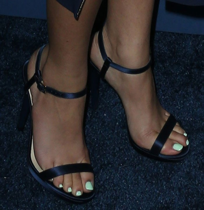 Zendaya-Coleman-Jimmy-Choo-Claudette-Blue-Satin-Sandals