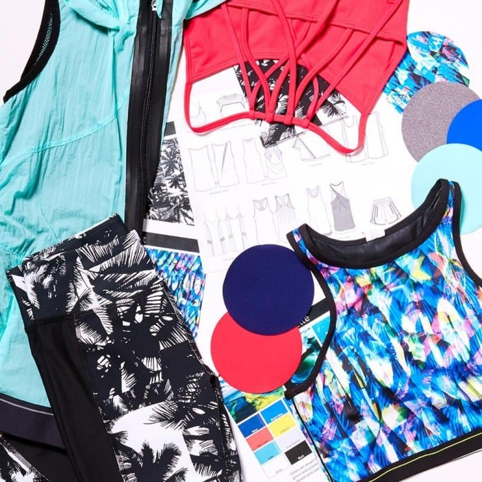 Popular athleisure products from Fabletics
