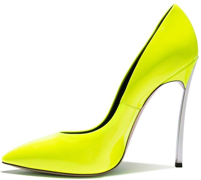 neon-yellow 'Blade' pump