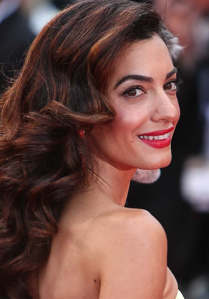 Amal Clooney Cannes Money Monster Jimmy Choo 1