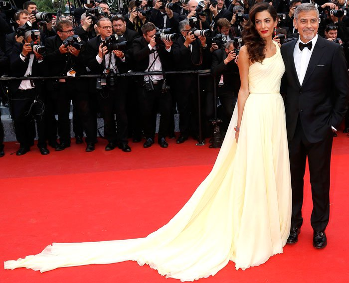 Amal Clooney Cannes Money Monster Jimmy Choo 2