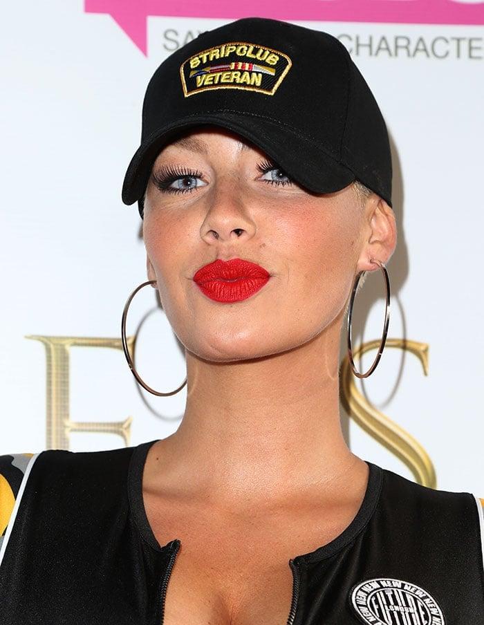 Amber Rose'sStrip Club Veteran baseball cap