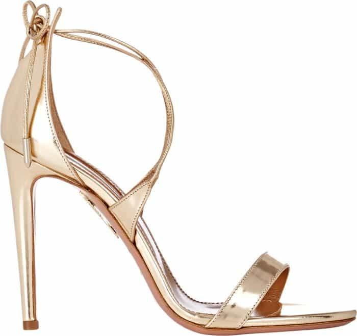 Aquazzura-Linda-Sandals-Gold